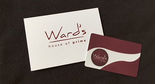 Gift Cards - Wards House of Prime Rib